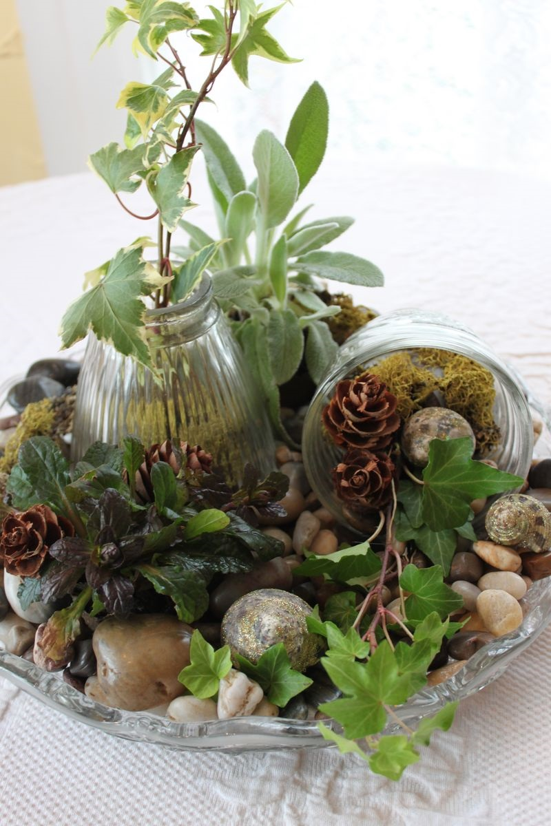Winter Tabletop Garden