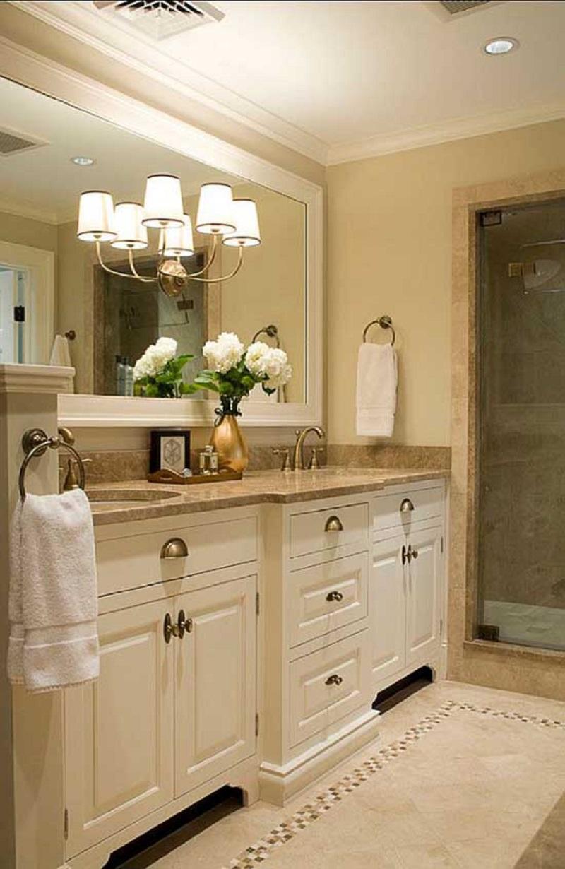 Cream Small Bathroom
