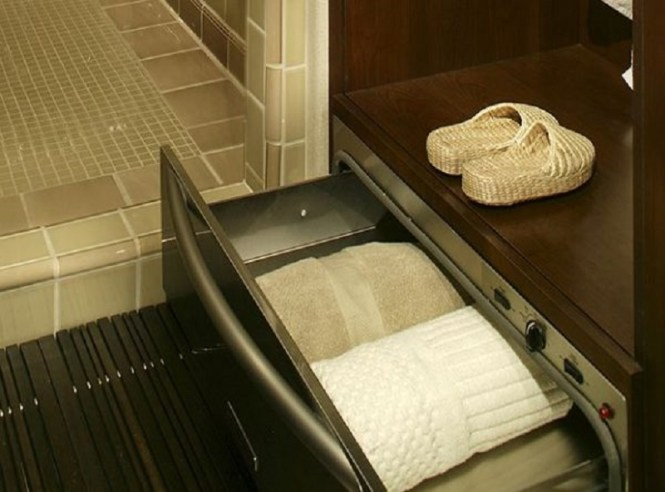 Warm Up With Heated Towels Spa
