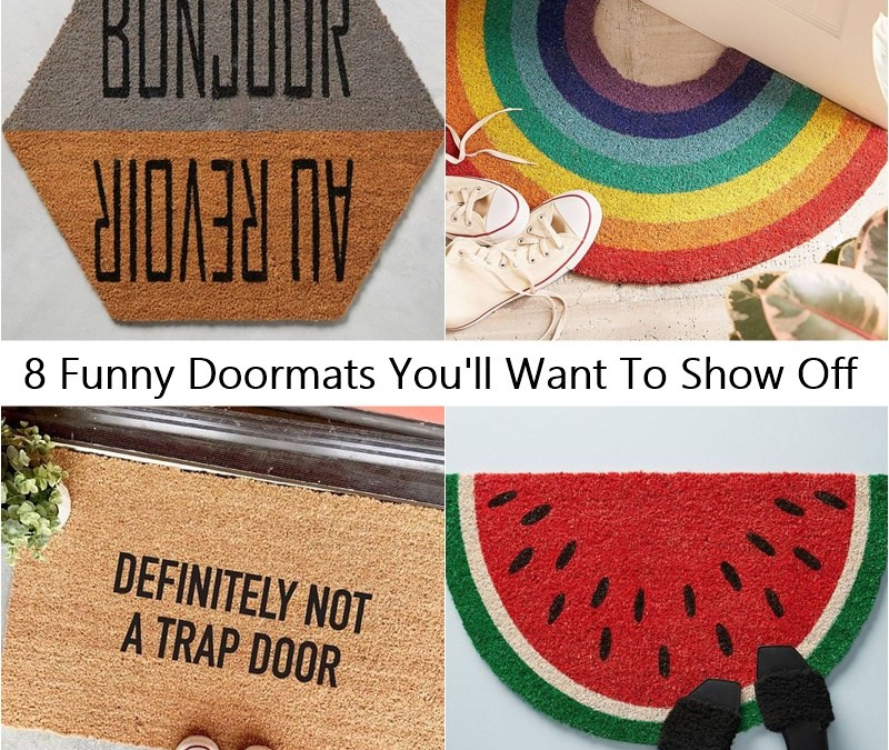 8 Funny Doormats You'll Want To Show Off