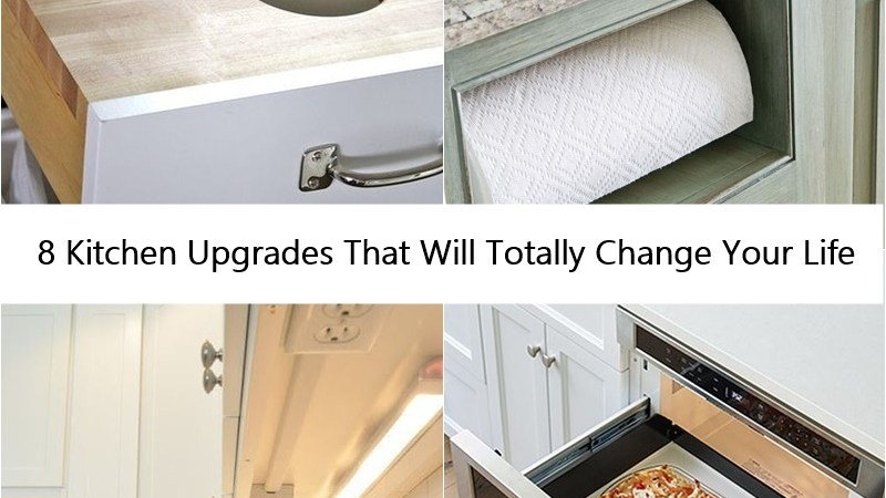 8 Kitchen Upgrades That Will Totally Change Your Life