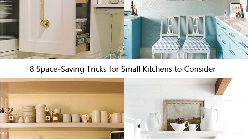 8 Space-Saving Tricks for Small Kitchens to Consider
