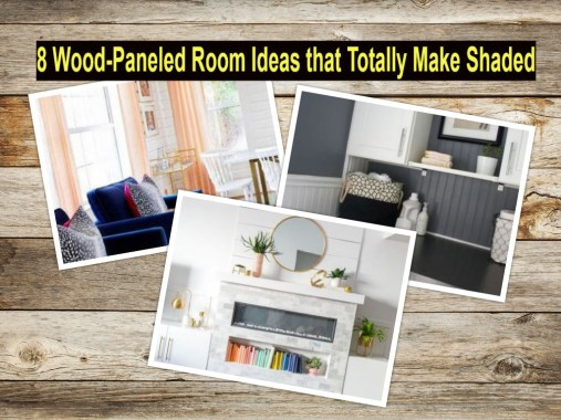 8 Wood Paneled Room Ideas That Totally Make Shaded