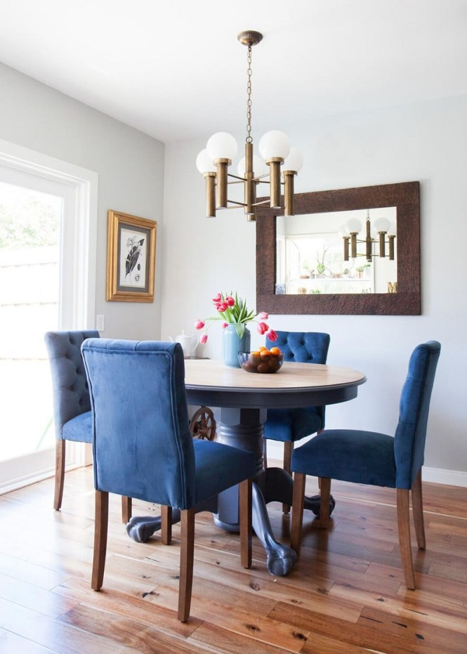 Blue and Brass Nook