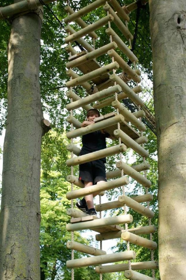Four Sided Rope Ladder