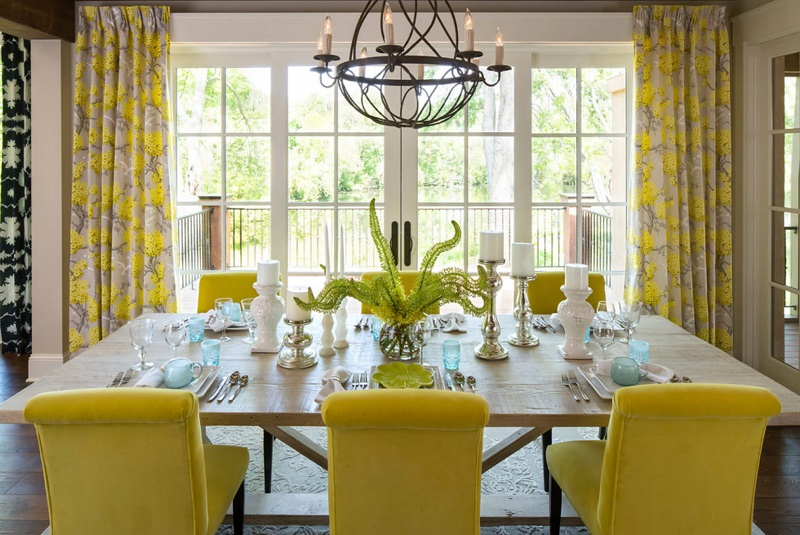 Yellow Dining Room