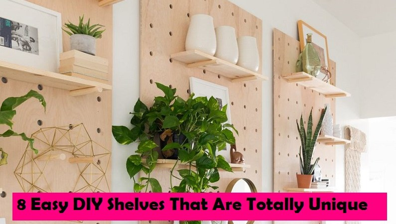 8 Easy DIY Shelves That Are Totally Unique