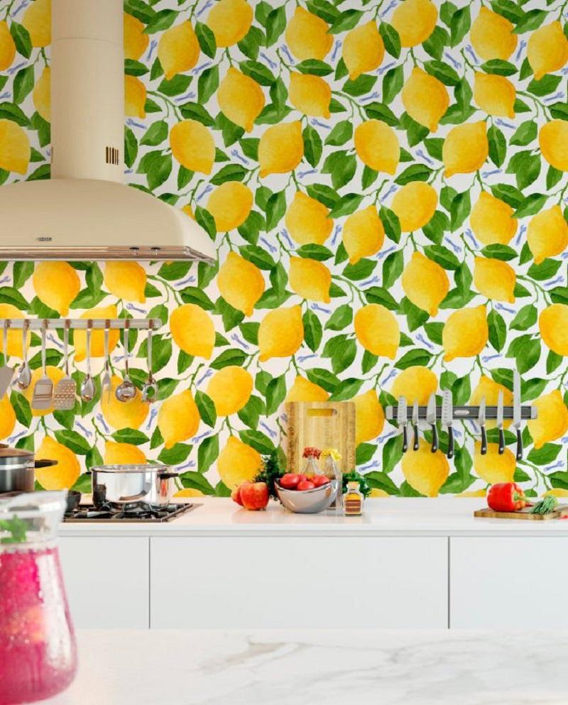 Lemons Wallpaper