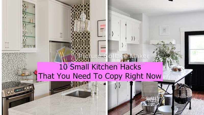 10 Small Kitchen Hacks That You Need To Copy Right Now