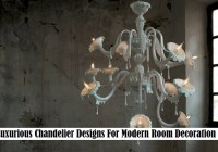 8 Luxurious Chandelier Designs For Modern Room Decoration