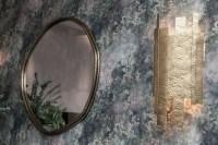 Savana Wall Lamp In Gold Leaf