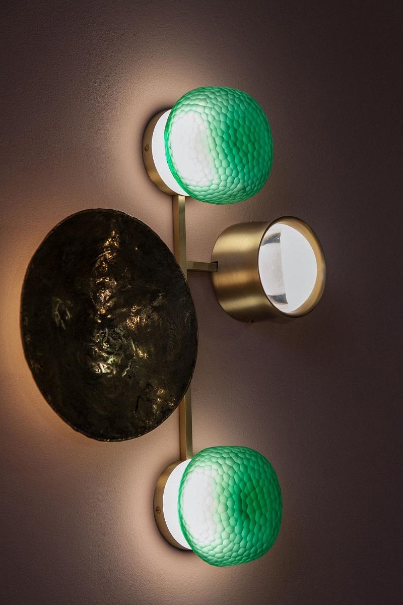 Sculptural Wall Lighting Fixture