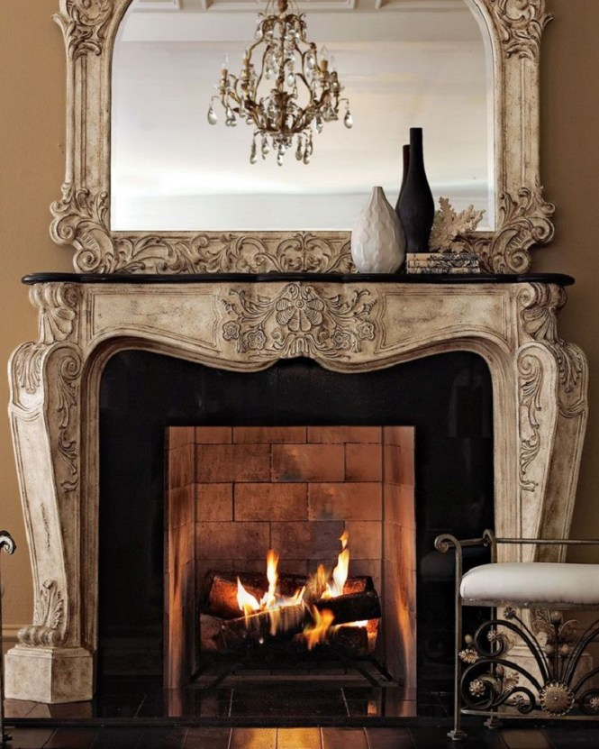 Turn Your Fireplace French