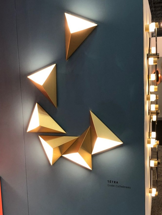 Triangle Wall Lights