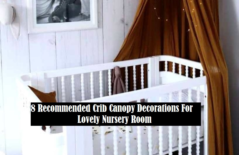 8 Recommended Crib Canopy Decorations For Lovely Nursery Room