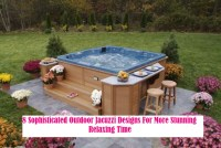 8 Sophisticated Outdoor Jacuzzi Designs For More Stunning Relaxing Time
