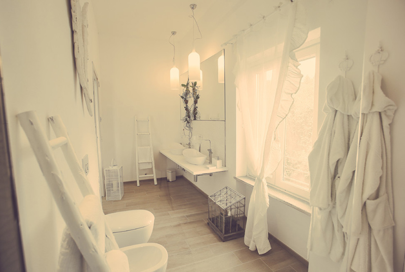 Bathroom With Pretty Picturesque