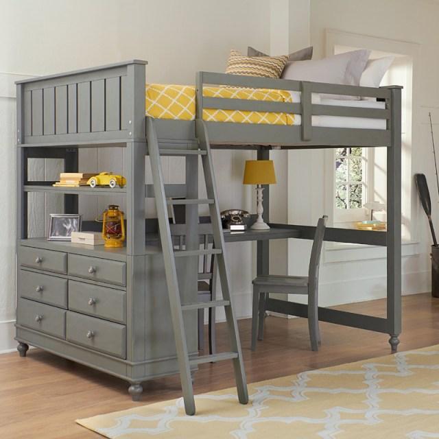 Beach Inspired Loft Bed