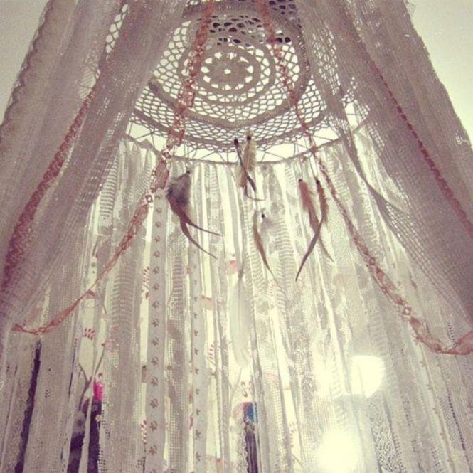 Bohemian Crib Canopy