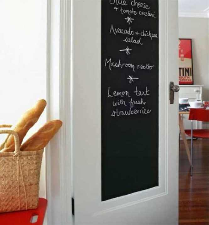 Chalkboard On The Door