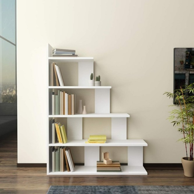 Decorotika Echo Accent Ladder Bookcase