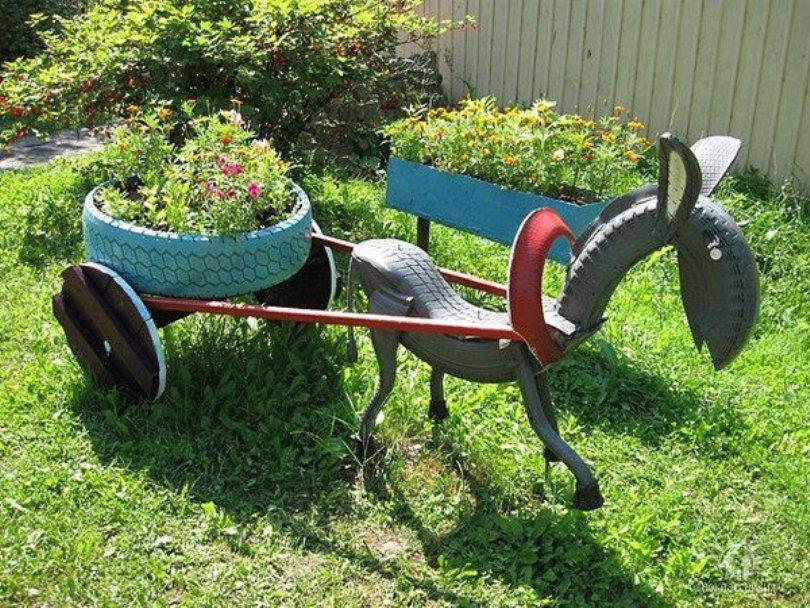 Donkey Tire Art