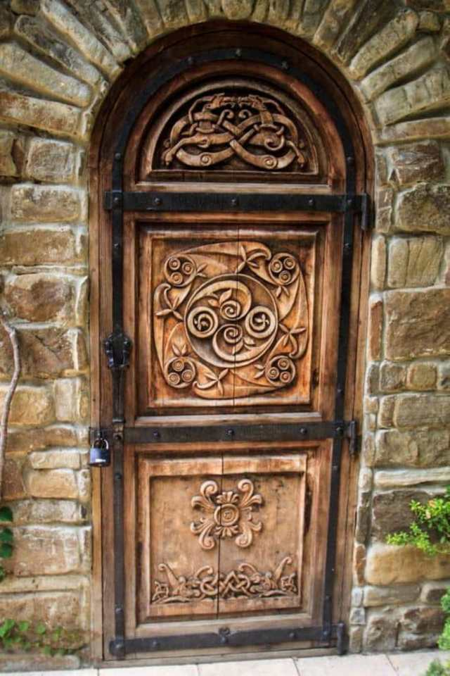 Door And Natural Stone