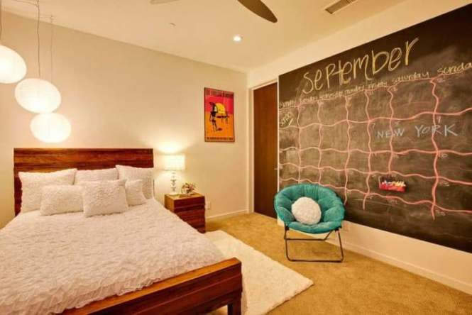 Exciting Chalkboard For Bedroom