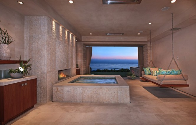 Indoor Jacuzzi Near A Beach