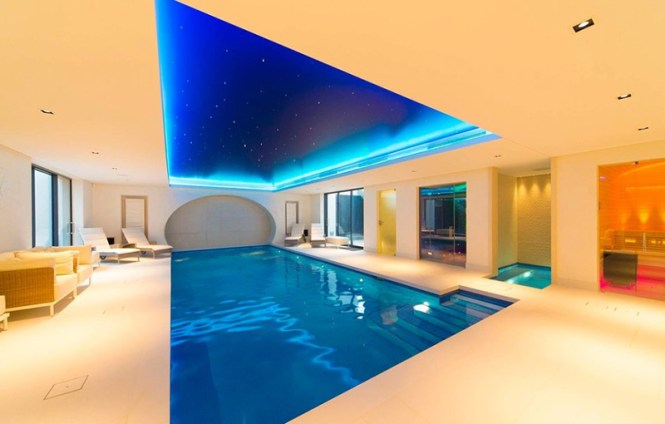 Indoor Pool For Party