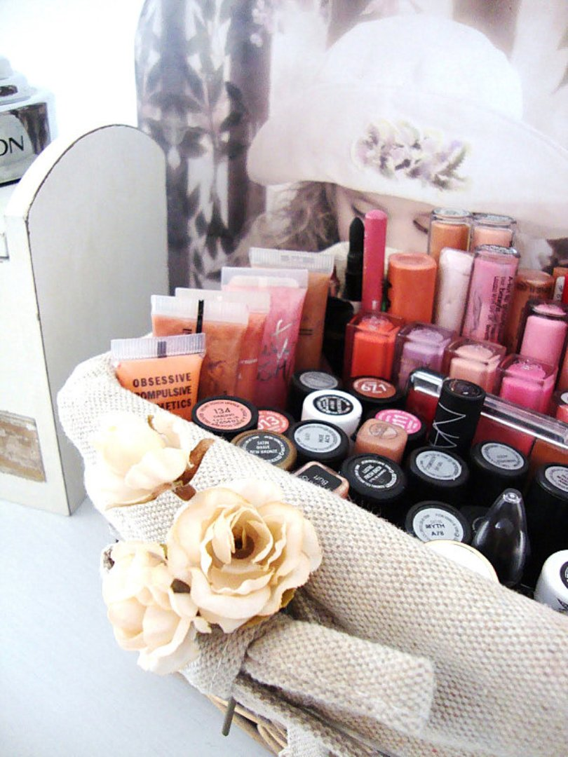 Makeup Storage Basket