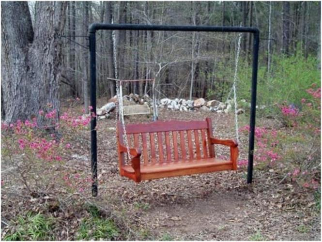 Old Fashioned Porch Swing
