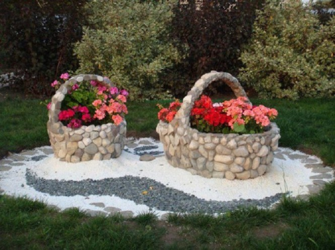Stone Made Basket