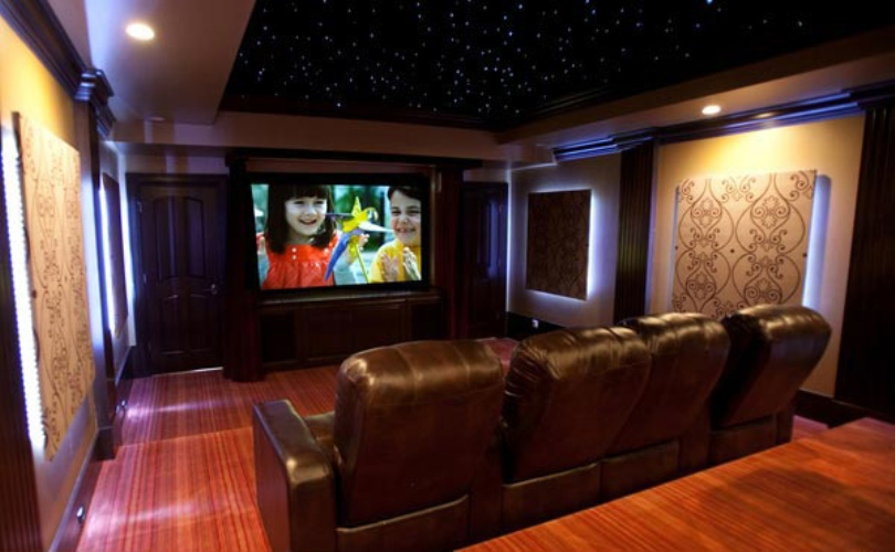 Small Family Home Theater