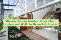 Alluring Indoor Garden Ideas That Landscaped Well To Bring Life Inside