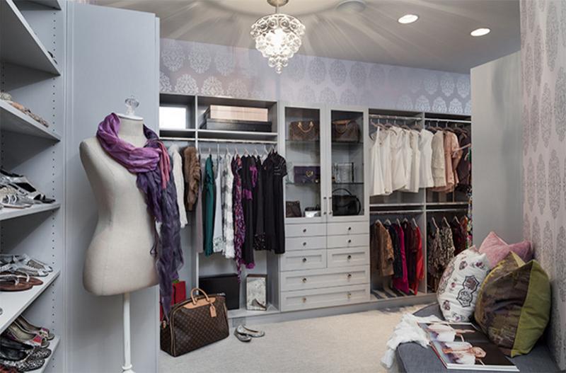Appealing Walk In Closet
