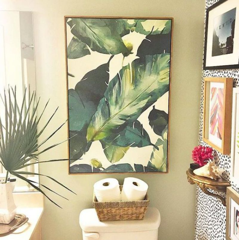By Hanging A Watercolor