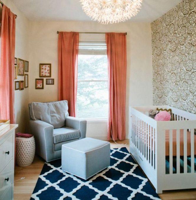 Gilded Lily Nursery Room