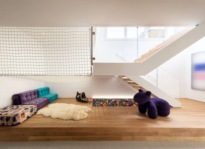 Hammock Floor For Playroom