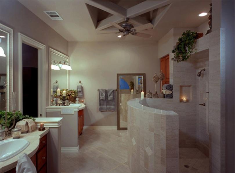 Luxurious Mediterranean Bathroom Design