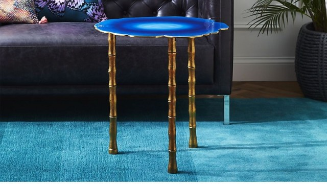 Natural Agate Side Table
