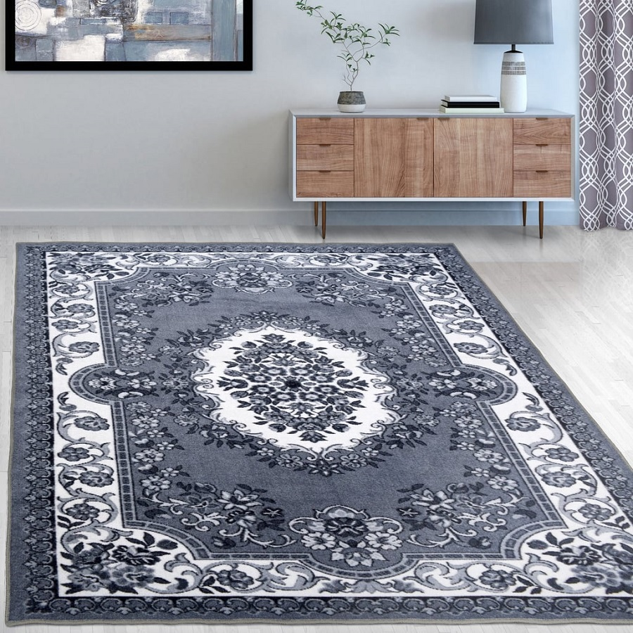 Non Skid Printed Area Rug