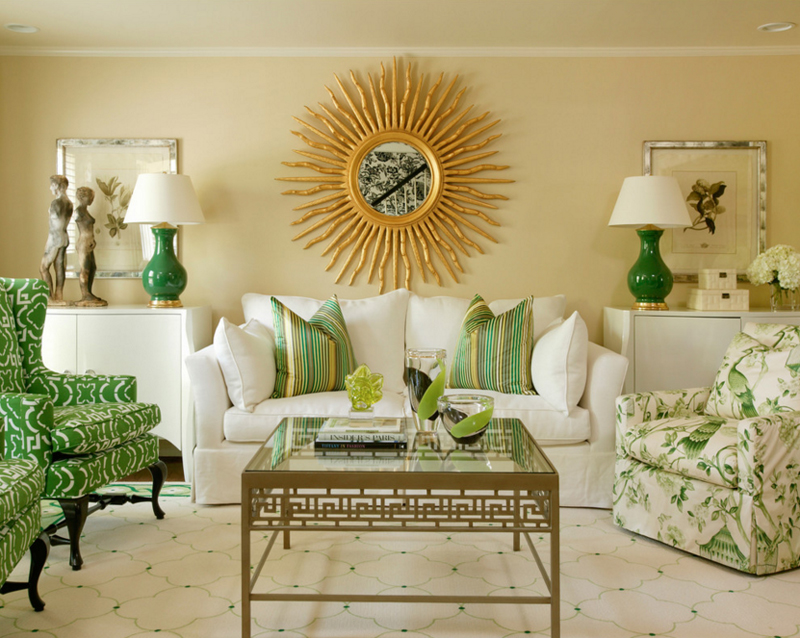 Roman And Greek Living Room Theme