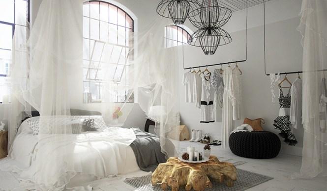 Snow White Bedroom Look
