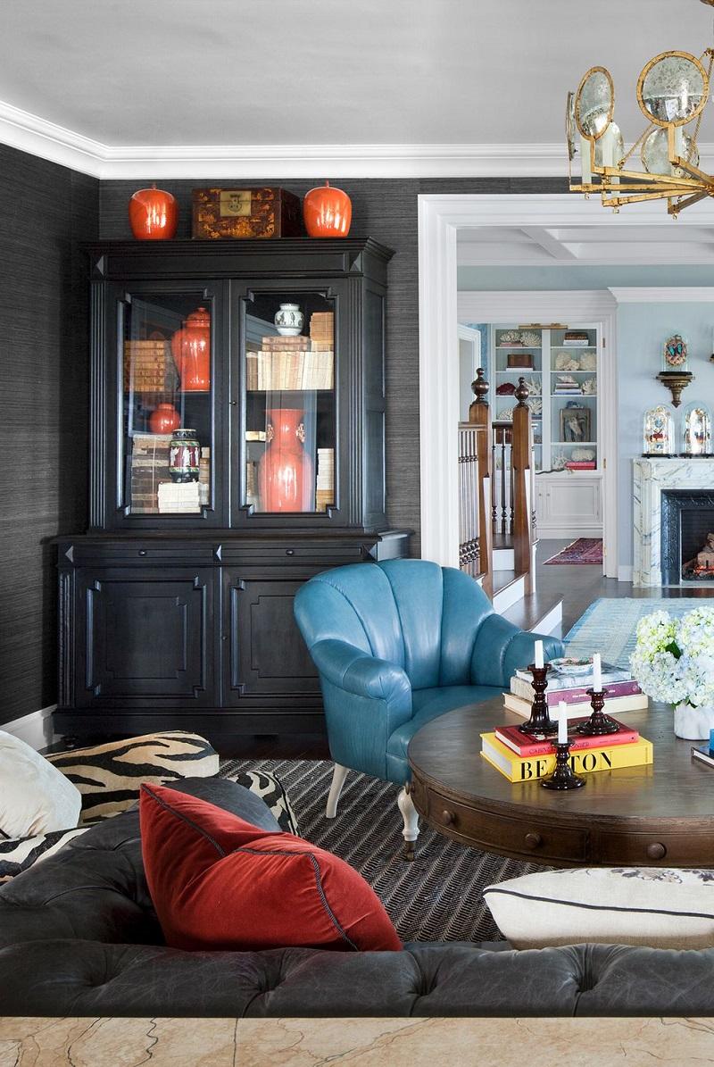 Textured Wallpaper For Living Room