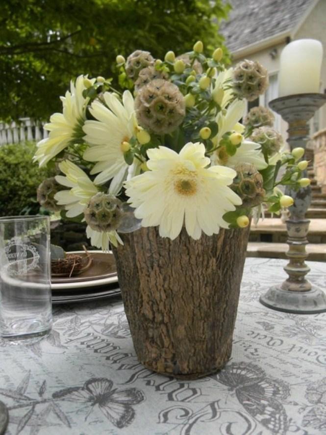 Vases From Tree Stump