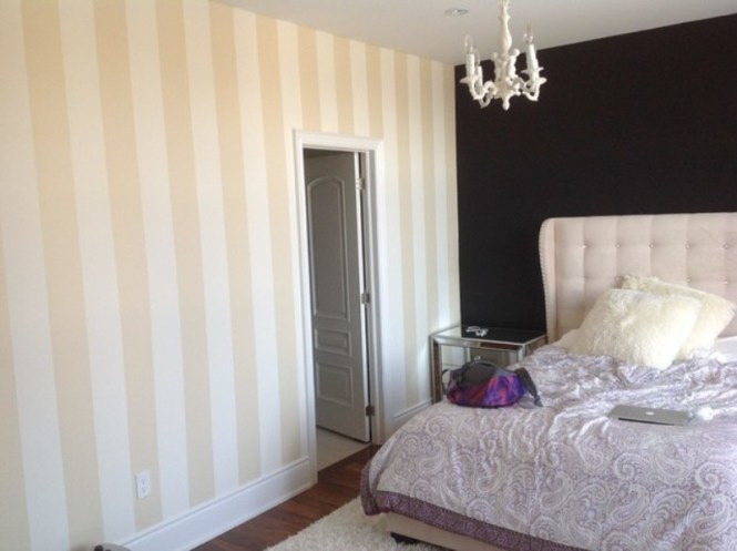 Walls With Vertical Stripes