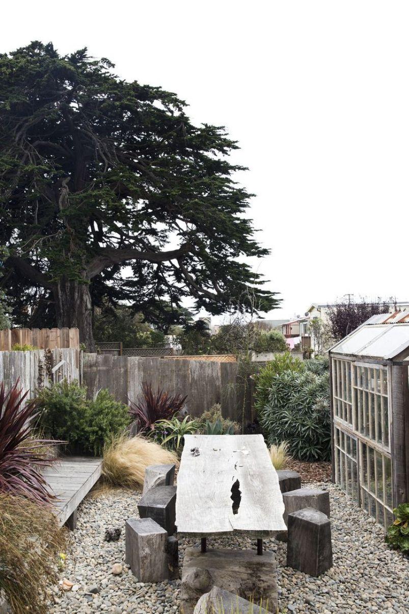 Wood Panel Fence For Backyard