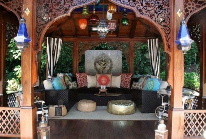 Bright Moroccan Patio