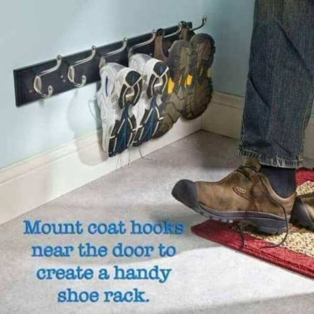 Hooks Used For Storing Shoes